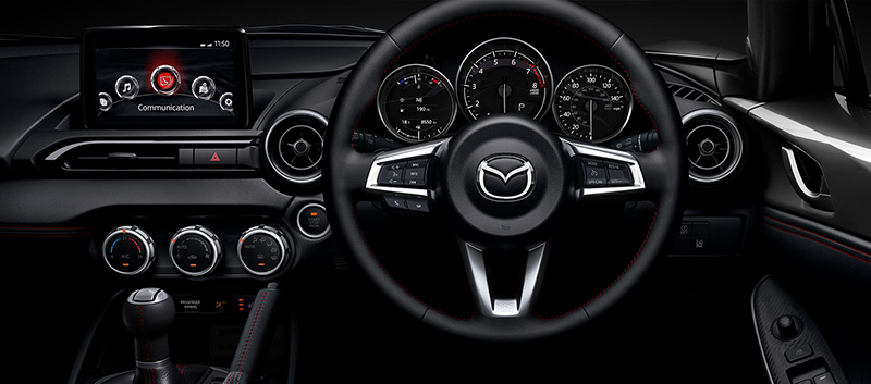 Mazda MX-5 RF features at Barloworld
